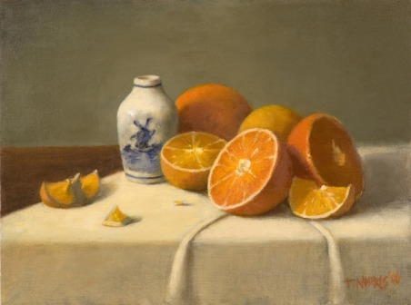 Cut Oranges with Delft